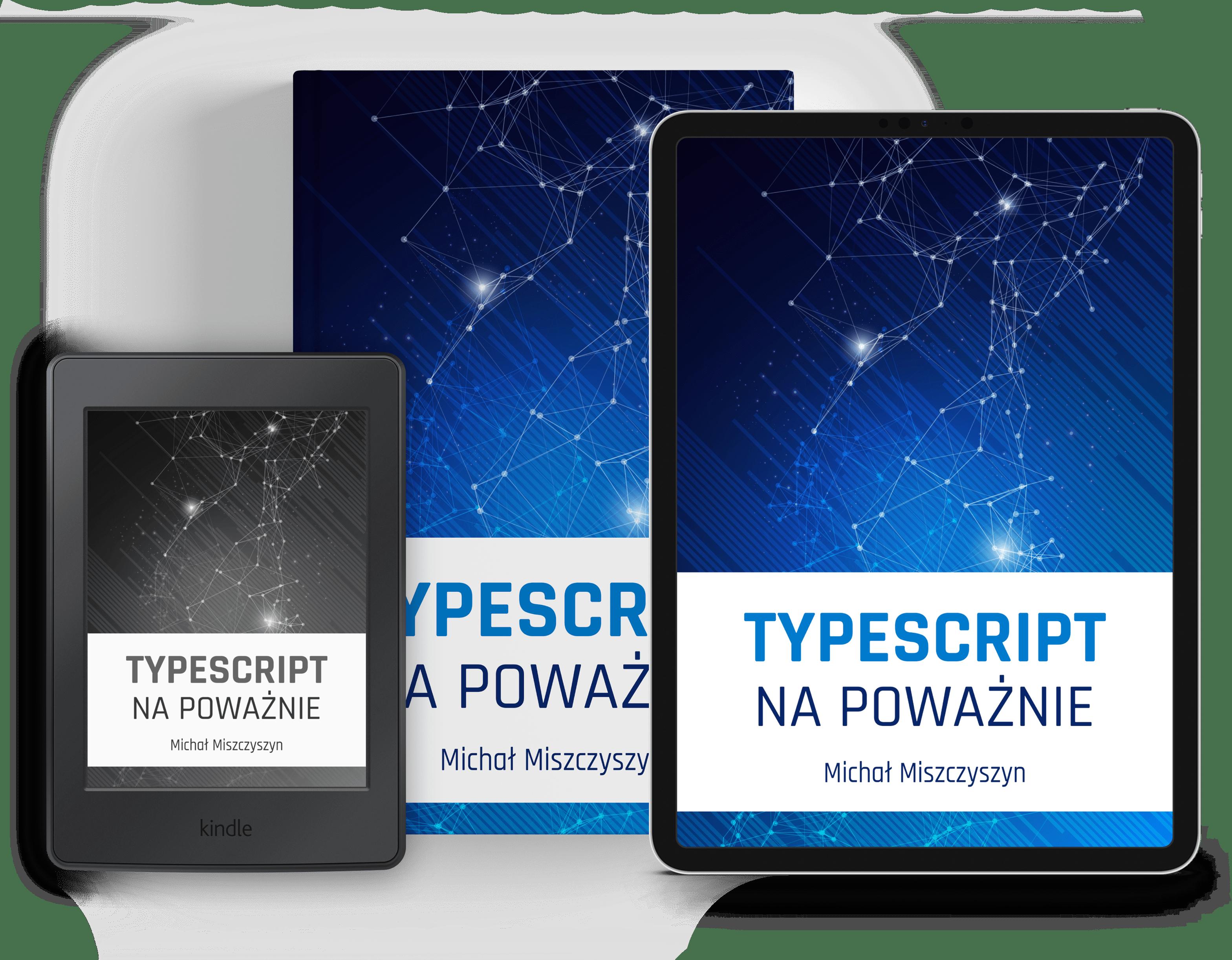 Książka ie-book TypeScript napoważnie